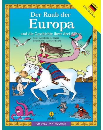 Der Raub der Europa und die Geschichte ihrer drei Söhne /  Η αρπαγή της Ευρώπης και η ιστορία των 3 γιων της | E-BOOK